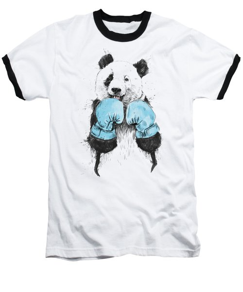 The Winner Baseball T-Shirt by Balazs Solti