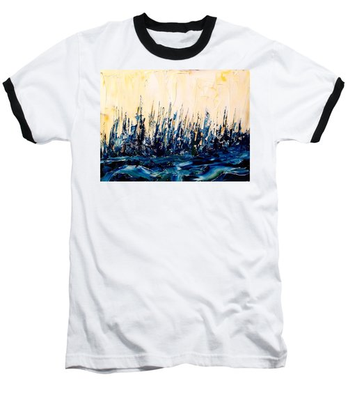 The Woods - Blue No.2 Baseball T-Shirt