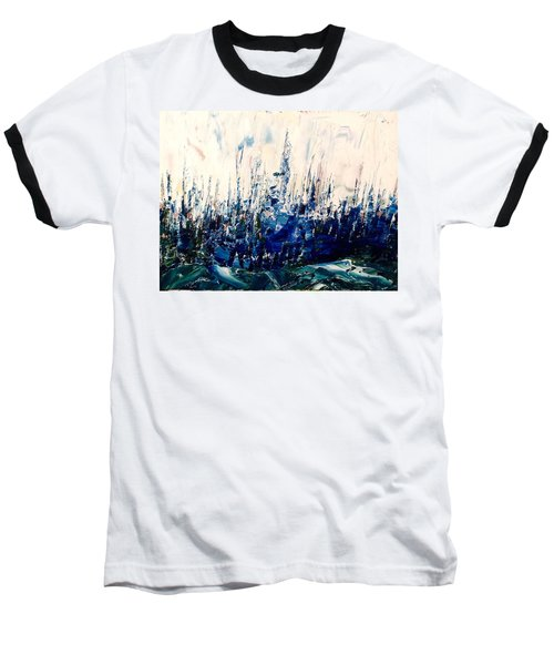 The Woods - Blue No.3 Baseball T-Shirt