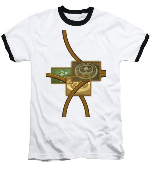 The World Of Crop Circles By Pierre Blanchard Baseball T-Shirt by Pierre Blanchard