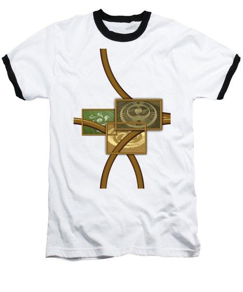 The World Of Crop Circles By Pierre Blanchard Baseball T-Shirt