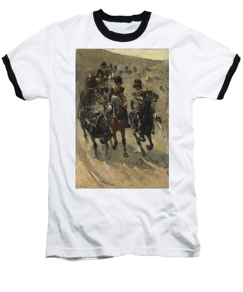 The Yellow Riders, George Hendrik Breitner, 1885 - 1886 Baseball T-Shirt