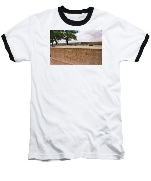 Baseball T-Shirt featuring the photograph Their Name Liveth For Evermore by Travel Pics