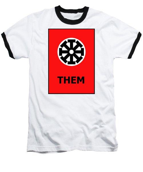 Baseball T-Shirt featuring the digital art Them by Richard Reeve