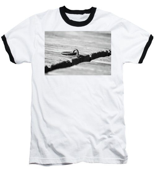 Baseball T-Shirt featuring the photograph There by Karol Livote