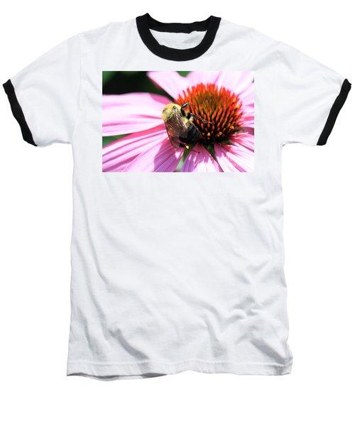 Baseball T-Shirt featuring the photograph Think Bees by Paula Guttilla