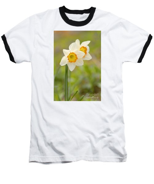 Thinking About Spring Baseball T-Shirt by Alana Ranney