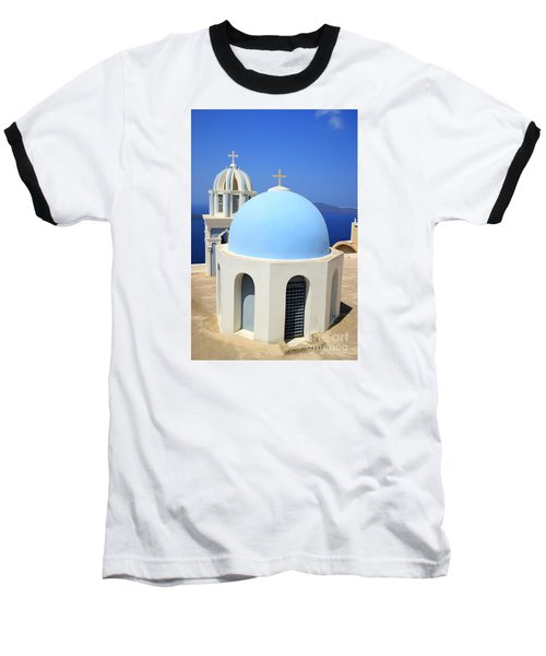 Thira Chapel Baseball T-Shirt