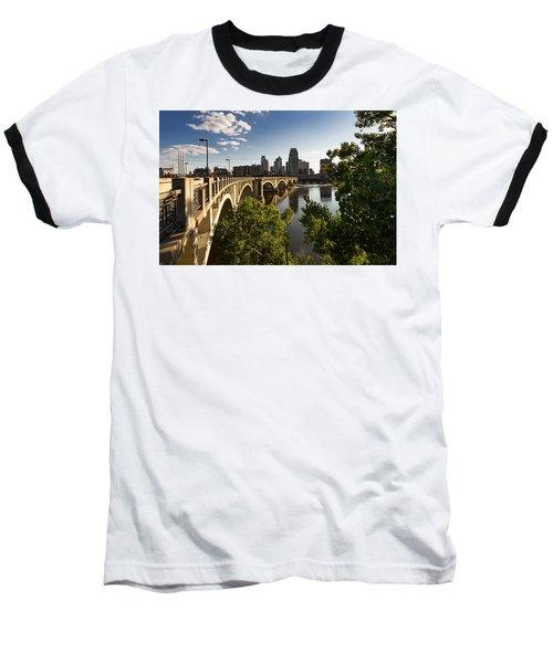 Third Avenue Bridge Baseball T-Shirt
