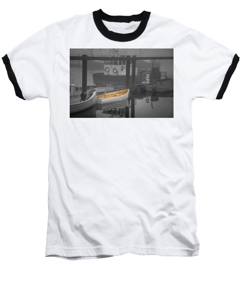 This Little Boat Baseball T-Shirt by Peter Scott
