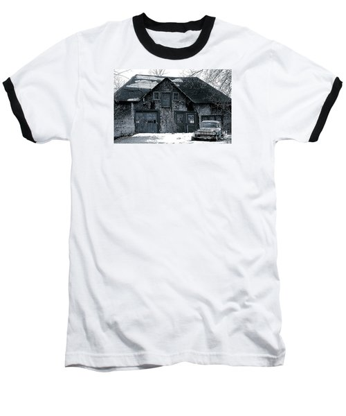 This Old House  6 Baseball T-Shirt by Iris Gelbart