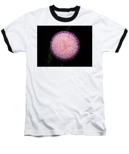 Thistle Bloom At Night Baseball T-Shirt