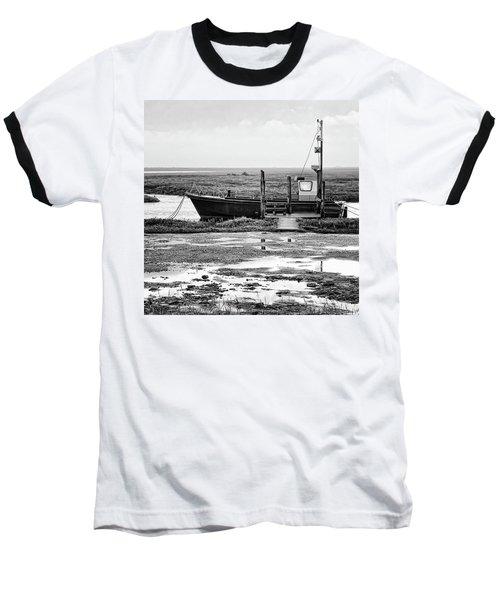 Thornham Harbour, North Norfolk Baseball T-Shirt by John Edwards