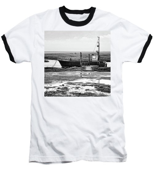 Thornham Harbour, North Norfolk Baseball T-Shirt