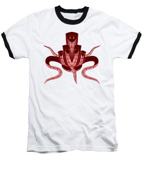 Those Five Snakes Baseball T-Shirt