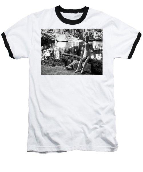 Thoughts Reflected Baseball T-Shirt