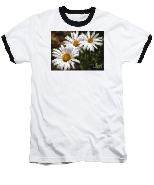 Three Flowers  ... Baseball T-Shirt