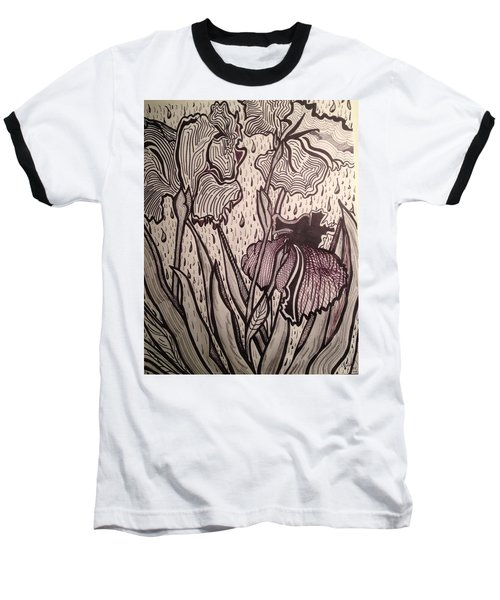 Baseball T-Shirt featuring the painting Three Loves Nurished by Andrea Love