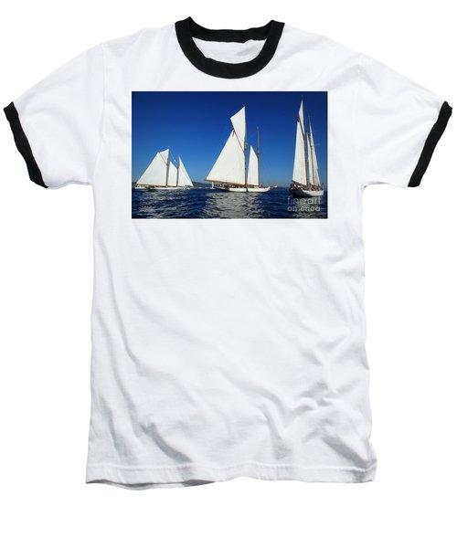 Three Schooners Baseball T-Shirt