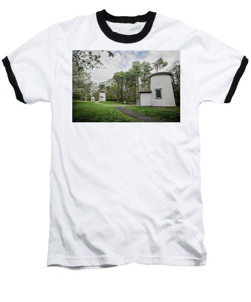 Three Sisters Lighthouses Baseball T-Shirt