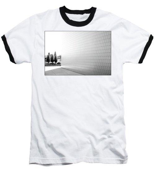 Three Trees And A Wall Baseball T-Shirt