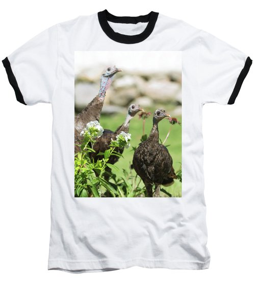 Threes A Crowd Baseball T-Shirt