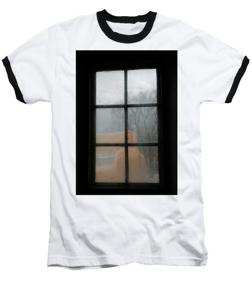 Baseball T-Shirt featuring the photograph Through A Museum Window by Marilyn Hunt