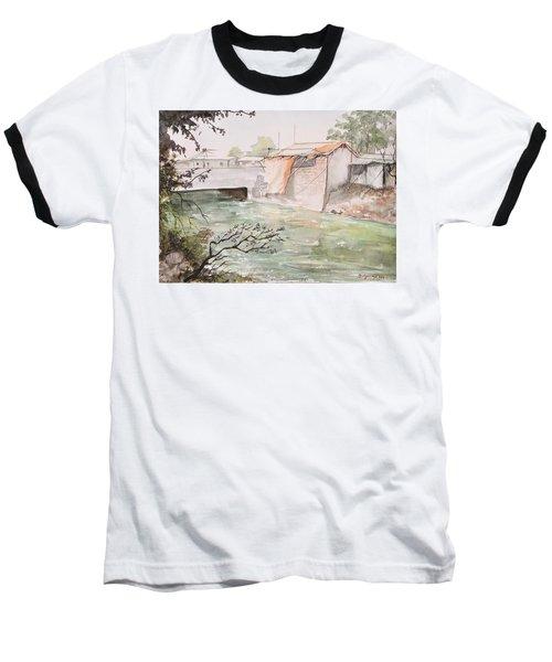 Through The Canal  Baseball T-Shirt