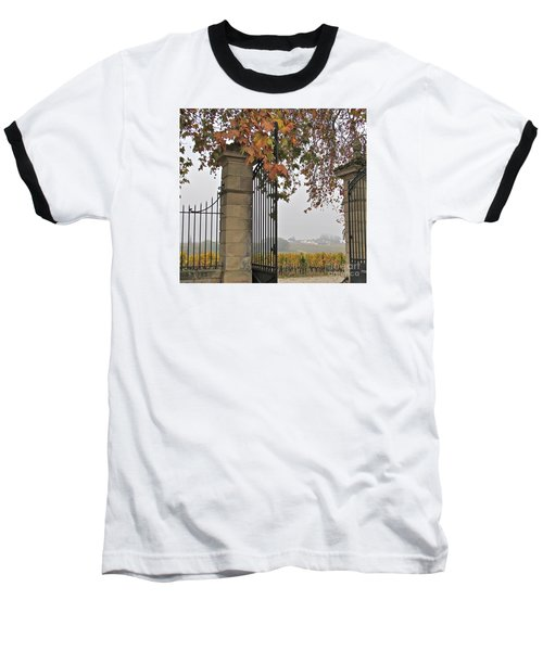 Through The Gates Baseball T-Shirt