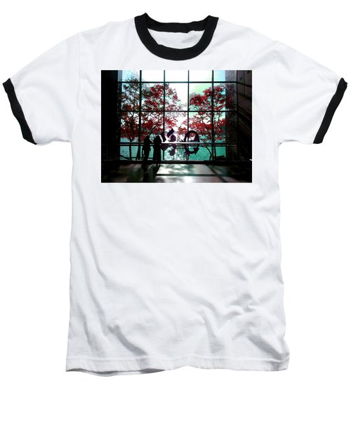 Through The Glass Baseball T-Shirt