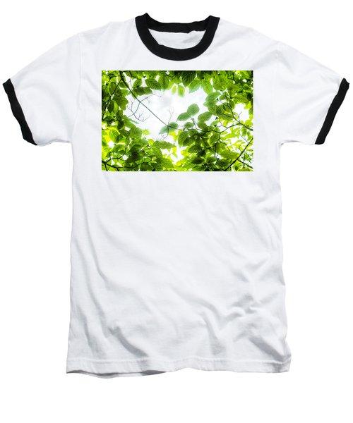 Through The Leaves Baseball T-Shirt