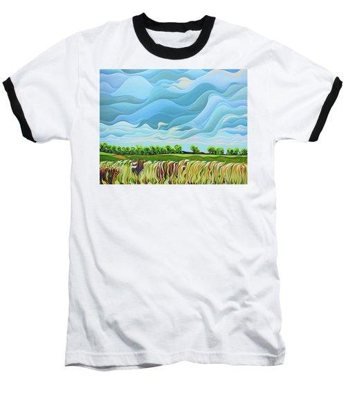 Thunder Sky Baseball T-Shirt