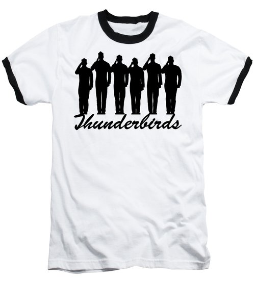 Thunderbirds Pilots Baseball T-Shirt
