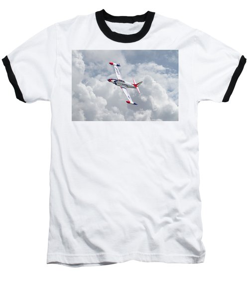 Baseball T-Shirt featuring the photograph Thunderbirds - T33 by Pat Speirs