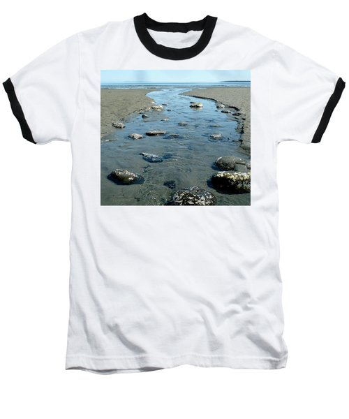 Baseball T-Shirt featuring the photograph Tidal Pools by 'REA' Gallery