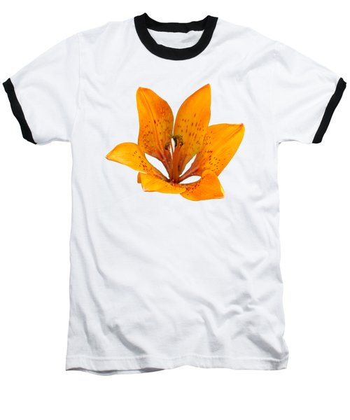 Tiger Lily 1 Trasparent Baseball T-Shirt