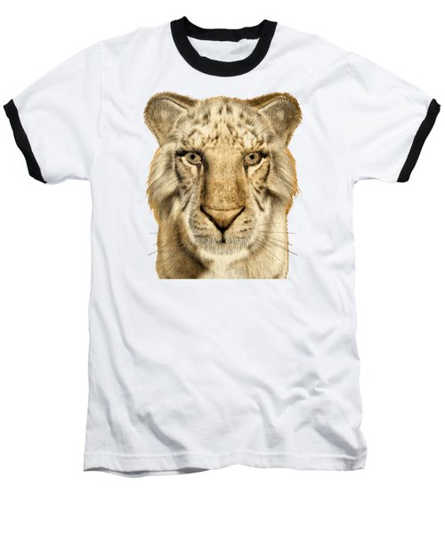 Baseball T-Shirt featuring the painting Tigers by Methune Hively
