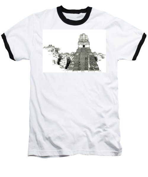 Tikal Temple I Baseball T-Shirt