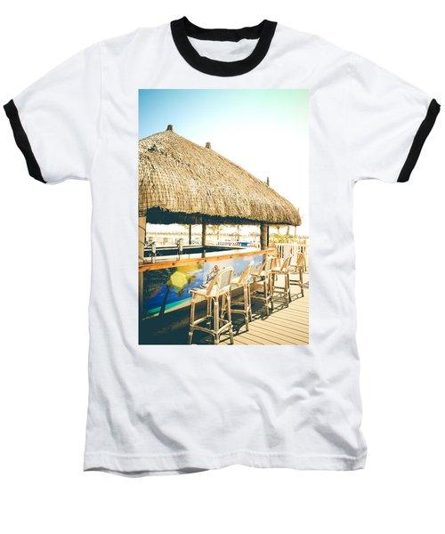 Time To Tiki Baseball T-Shirt