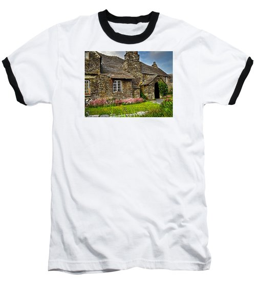 Tintagel Cottage Baseball T-Shirt