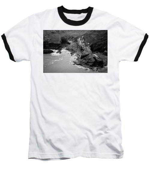 Tintagel Rocks Baseball T-Shirt