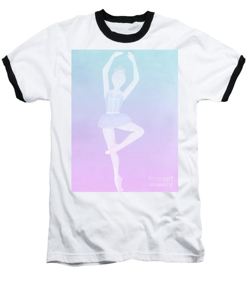 Tiny Dancer Ballerina Baseball T-Shirt