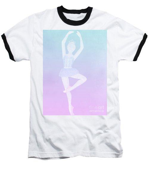 Tiny Dancer Ballerina Baseball T-Shirt