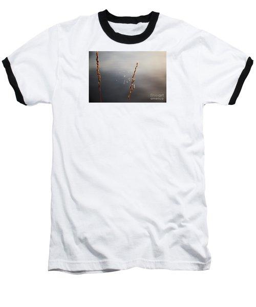 Baseball T-Shirt featuring the photograph Tiny Web by Rebecca Davis