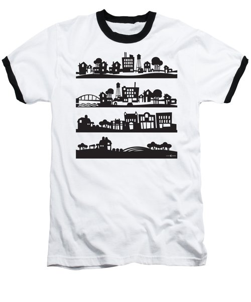 Tinytown Stacked Baseball T-Shirt