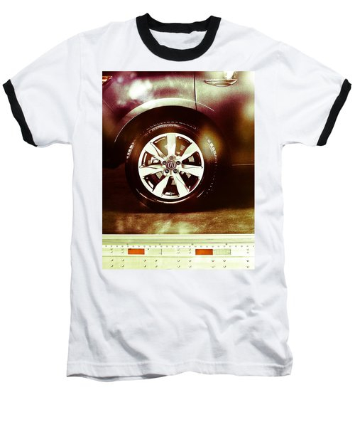 Tire Under The Moonlight Color Baseball T-Shirt