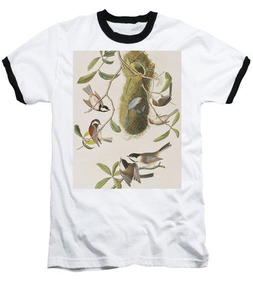 Titmouses Baseball T-Shirt
