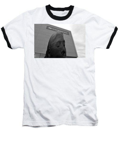 Baseball T-Shirt featuring the photograph Tampa Museum Of Art Work B by David Lee Thompson
