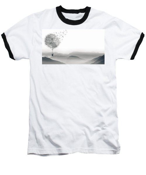 To Fly Only For A Moment Baseball T-Shirt