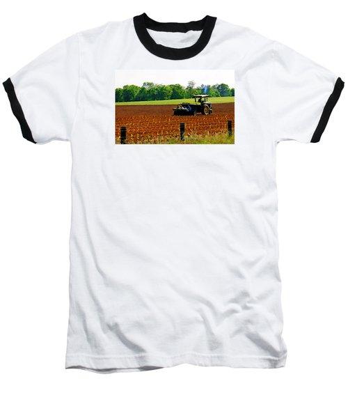 Tobacco Planting Baseball T-Shirt